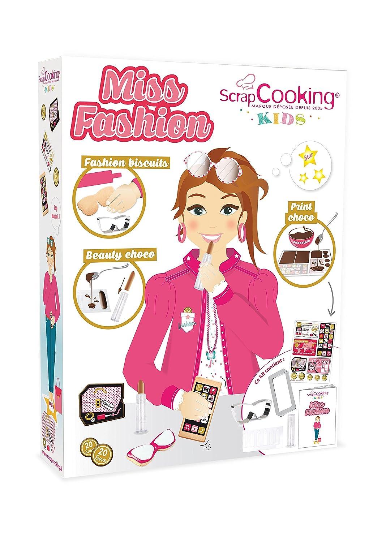 ScrapCooking 3700392438012 Miss Fashion Cookie Making Kit