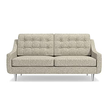 Amazon.com: Cloverdale Drive Apartment Size Sofa Straw, 69 ...