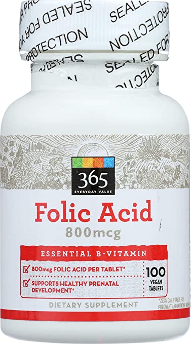 365 Everyday Value Folic Acid