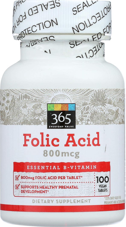 Meilleur supplément de vitamine d'acide folique