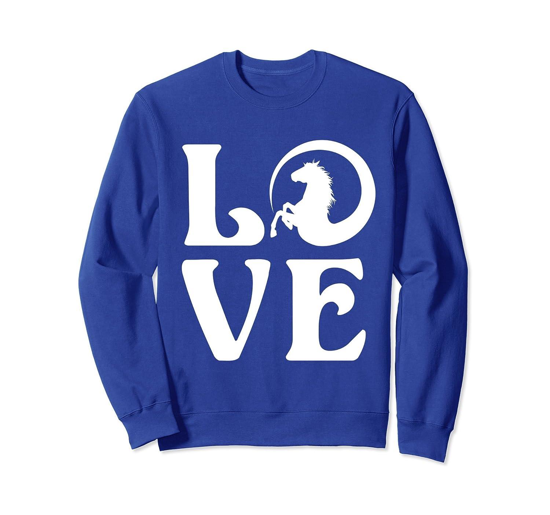 Horse Girl Sweatshirt - Horse Love Sweatshirt for Women- TPT