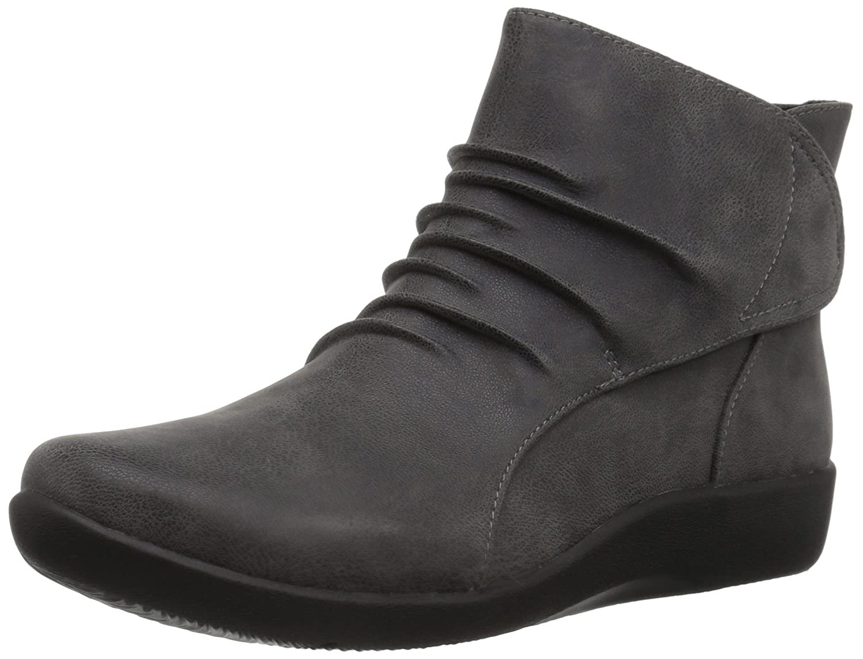 Clarks Woherren Sillian Sway Ankle Stiefelie, grau, 7 M US