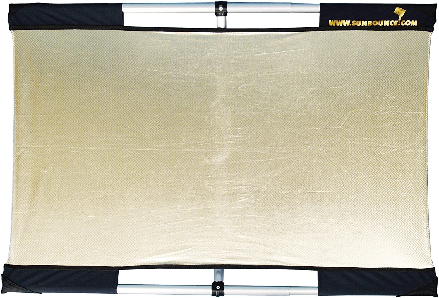Reflector Panel Kit with Frame and Carry Bag Zebra//White California Sunbounce Micro Mini Kit 2 x 3 Feet