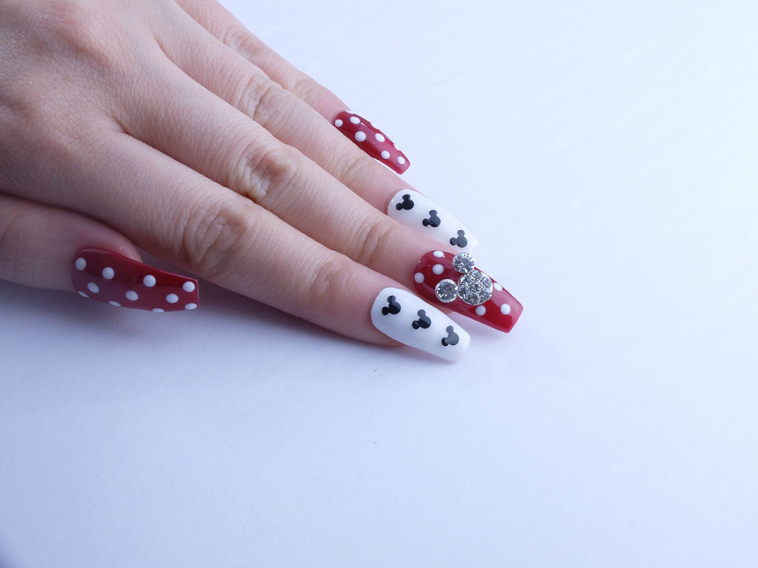 Mickey Custom Press on Nails