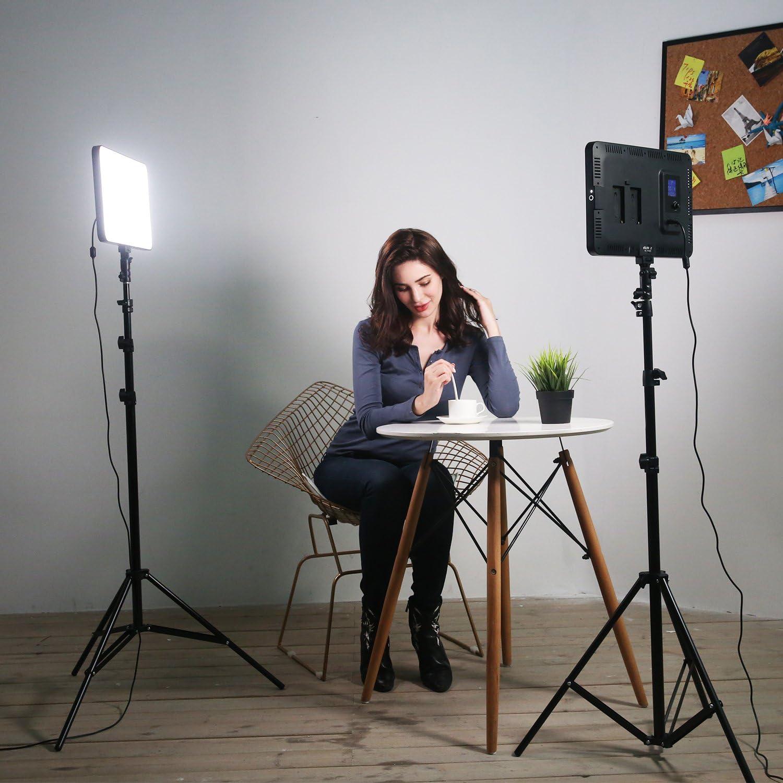 Photo Studio lighting Photography LED Lamp Panel for DSLR Cameras ...