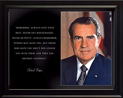 Richard Nixon Quotes Impressive Amazon WeSellPhotos Richard Nixon Photo Picture Poster Framed