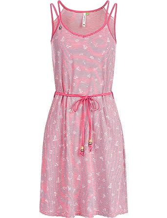 b9c669bb2ad9f Ragwear Damen Baumwoll Jersey Kleid Blandin Organic 2 Farben XS-XL ...