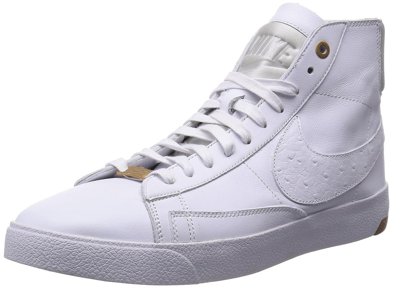 Amazon.com | Nike Mens Blazer Lux PRM QS White/Pure Platinum Leather ...