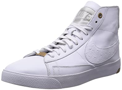 size 40 90796 8975f Nike Mens Blazer Lux PRM QS White Pure Platinum Leather Size 12