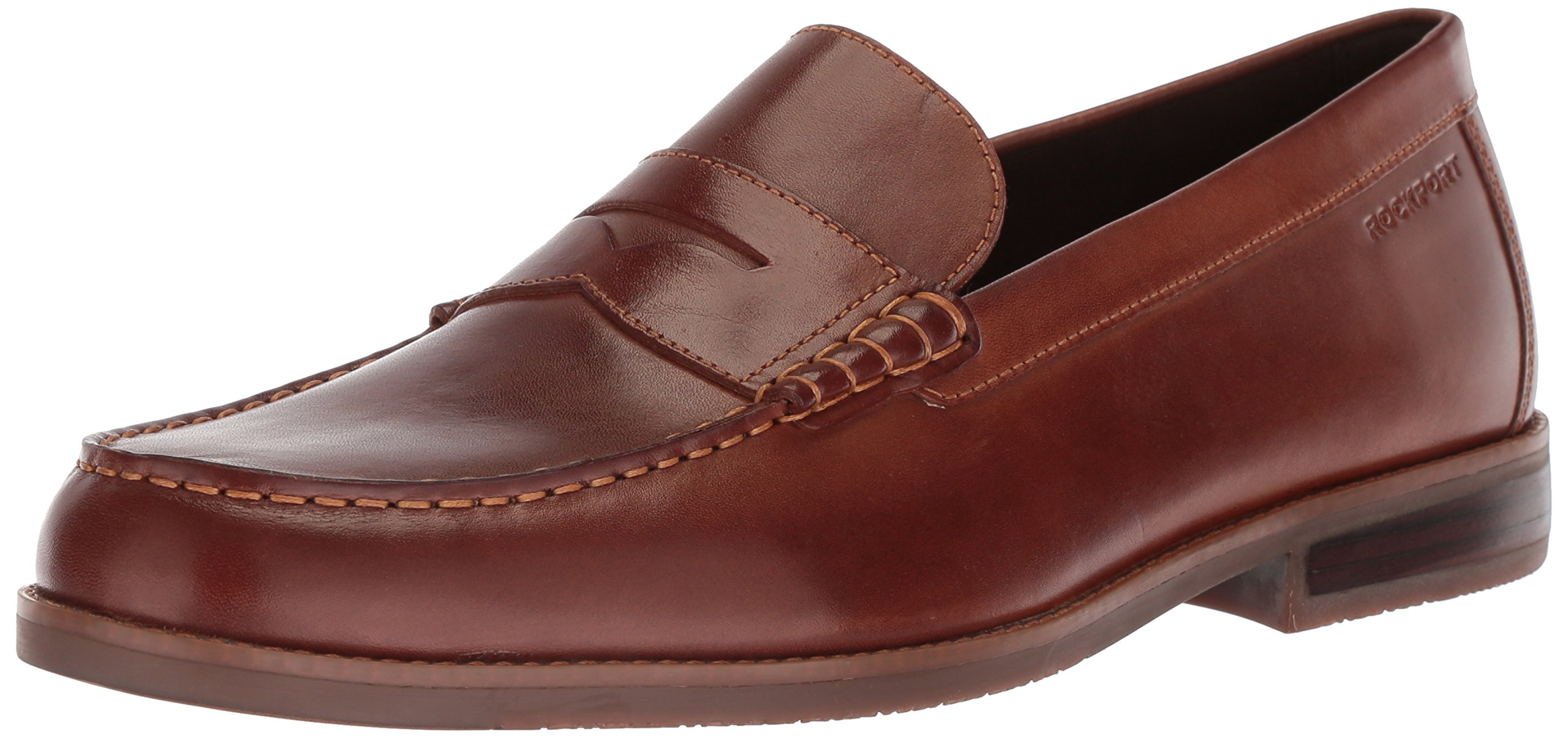 Rockport Men's Cayleb Penny Shoe, Brown, 10.5 M US by Rockport