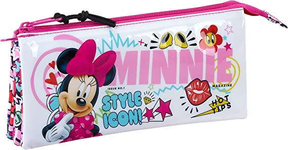 Safta Estuche Escolar Minnie Mouse