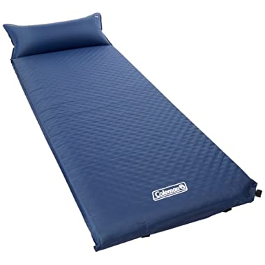 Coleman Self-Inflating Camping Pad with Pillow