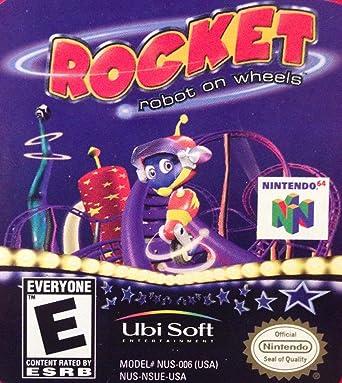 Amazon.com: Rocket: Robot on Wheels: Video Games