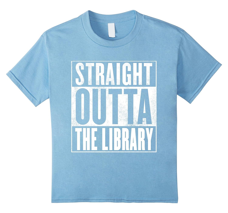 Womens Funny Library T Shirt STRAIGHT-Awarplus