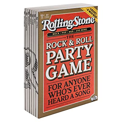 Big Potato Rolling Stone, The Music Trivia Game Where Legends are Made, Multicolor: Toys & Games