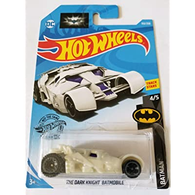 Hot Wheels 2020 Batman The Dark Knight Batmobile, White 153/250: Toys & Games