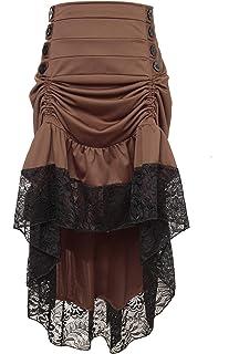 2ce8a5137e GRACEART Mujeres Victoriano Steampunk Falda  Amazon.es  Ropa y ...