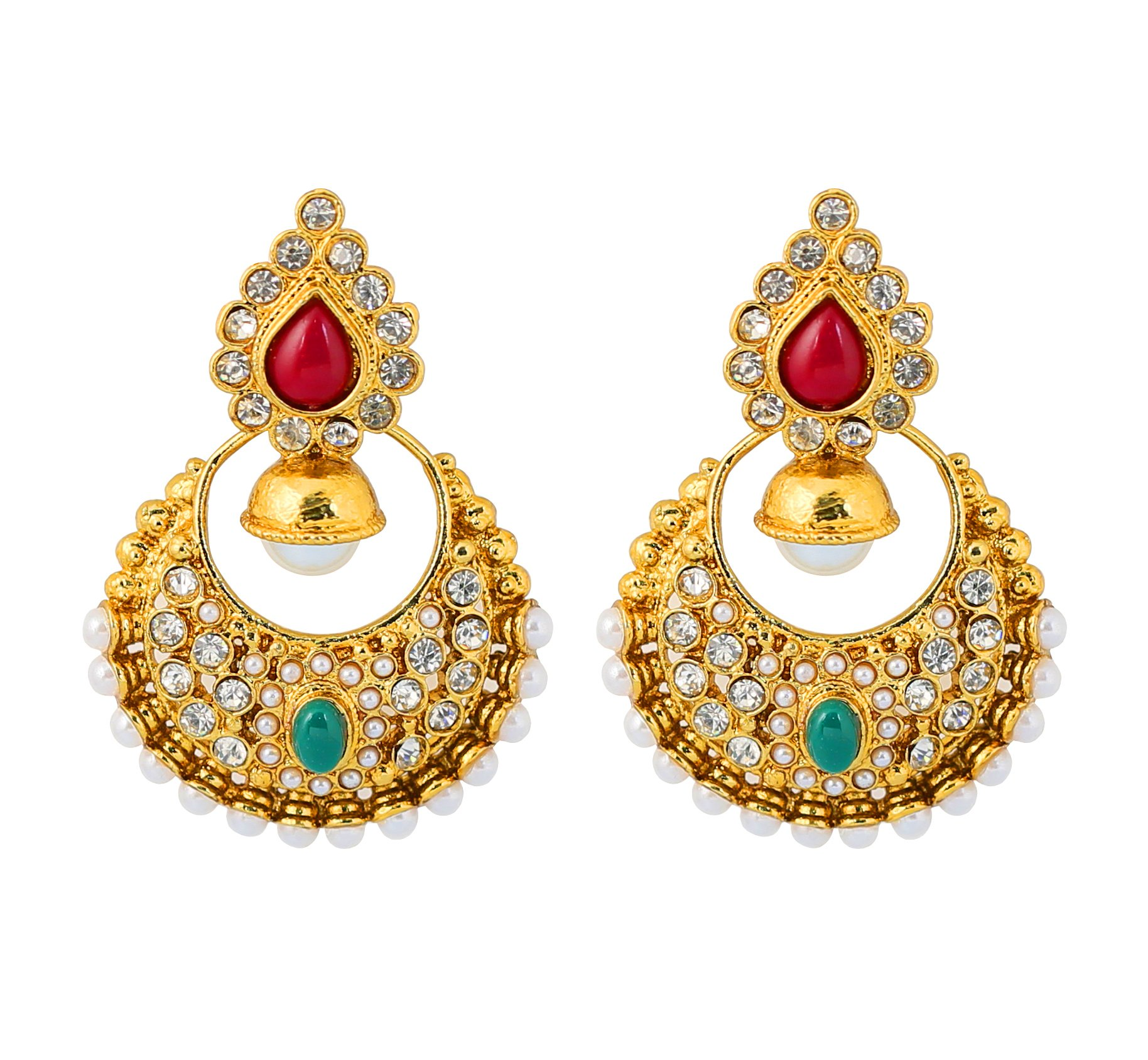Bollywood Earrings: Amazon.com