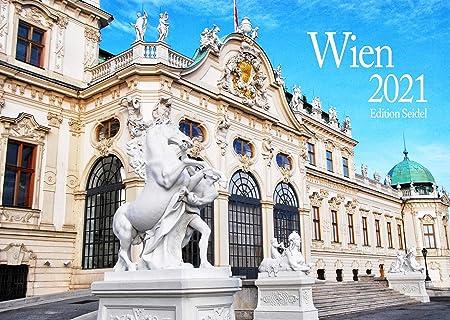 Edition Seidel Premium Calendario da parete Vienna 2021 DIN A3