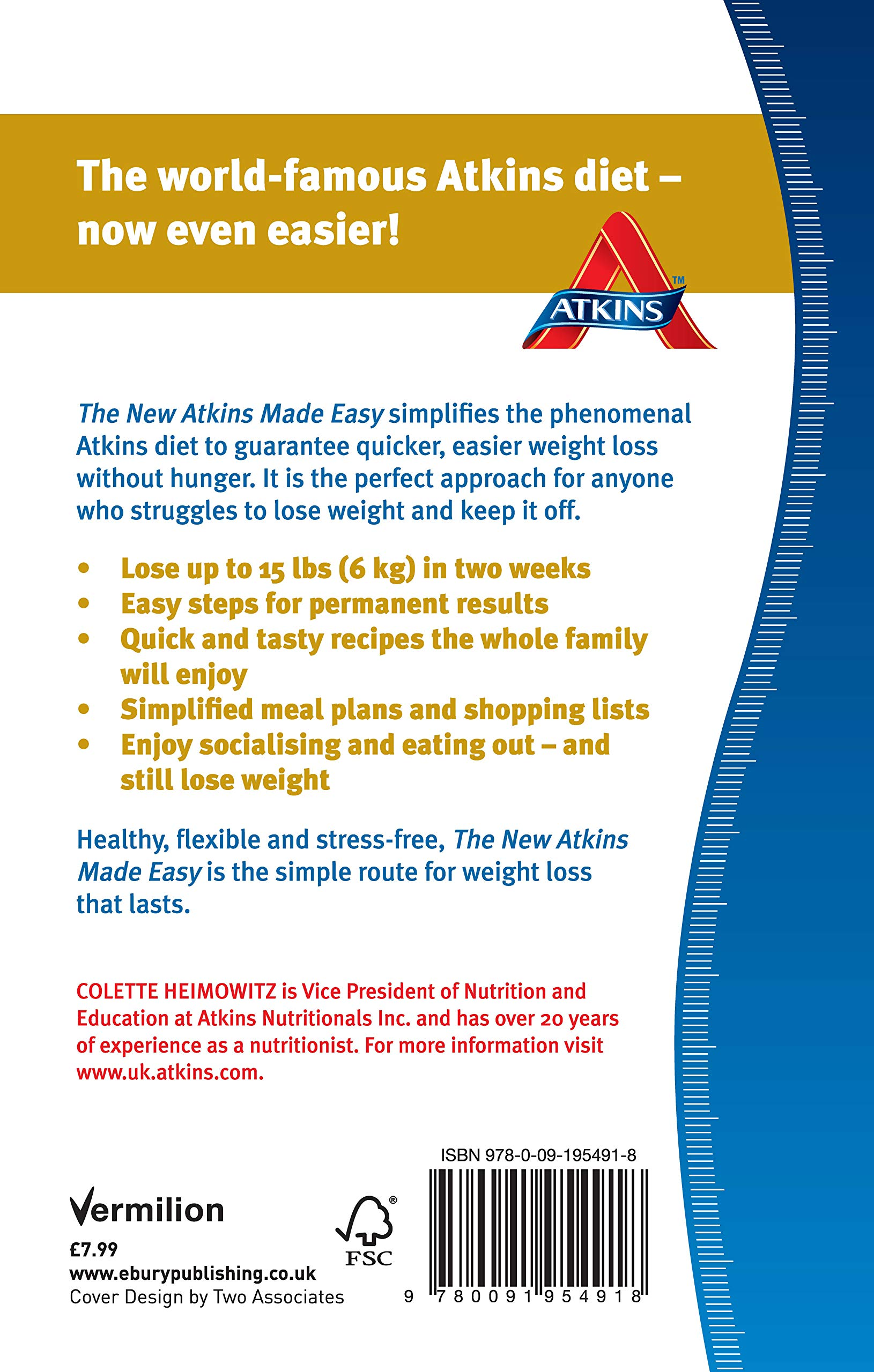 The New Atkins Made Easy The Faster Simpler Way To Lose Weight And