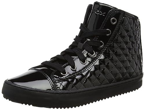 Geox J Kalispera i, Sneaker a Collo Alto Bambina, Blu (Navy), 27 EU