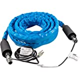 Camco 25 Ft TASTEPure Heated Drinking Water Hose with Energy Saving Thermostat - Lead and BPA Free (22911),Cold Weather (Free