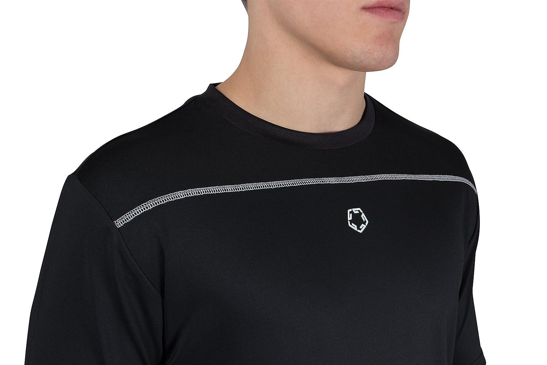 Ciclismo y Correr Gregster Camiseta Deportiva y Funcional para Hombre Camiseta de Manga Corta Ideal para Fitness