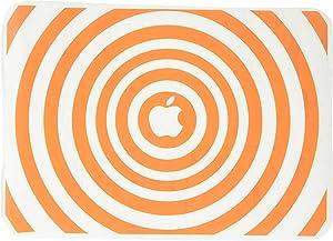 The Decal Guru 2048-MAC-13A-P Music Waves MacBook Decal Vinyl Sticker - 13