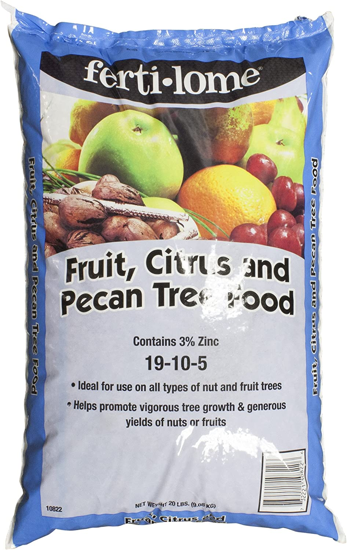 Fertilome 20 Lbs Fruit, Citrus & Pecan Tree Food - 10822