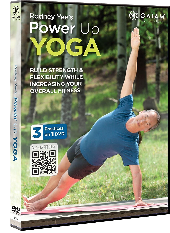 RODNEY YEES POWER UP YOGA Gaiam 05-59850 Fitness/Self-Help Movie