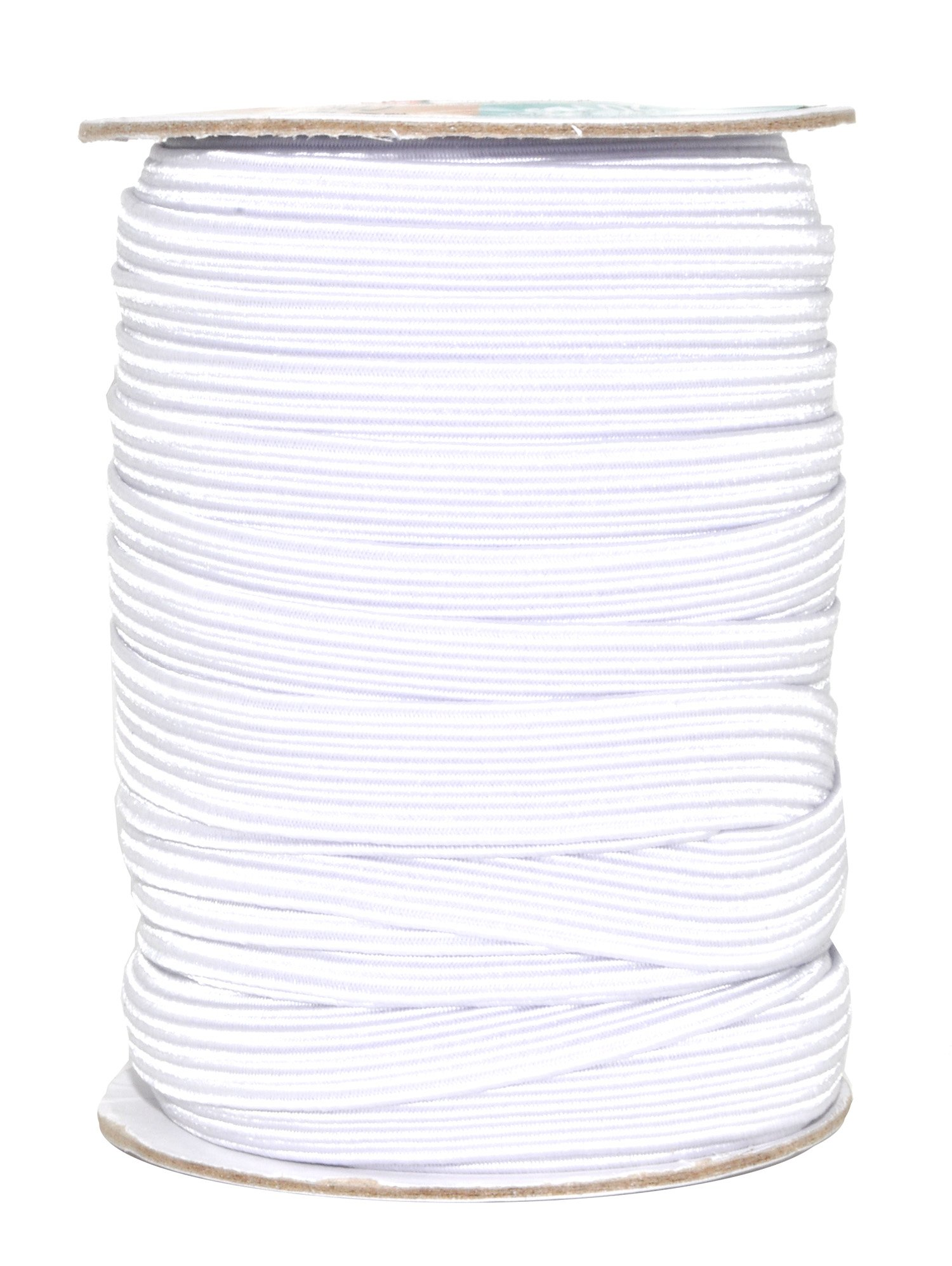 12mm flat white woven elastic crafting cord dressmaking waist band tailoring