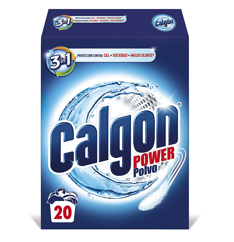 Calgon Antical Lavadora Power Formato Polvo 500 g - 20 Lavados ...