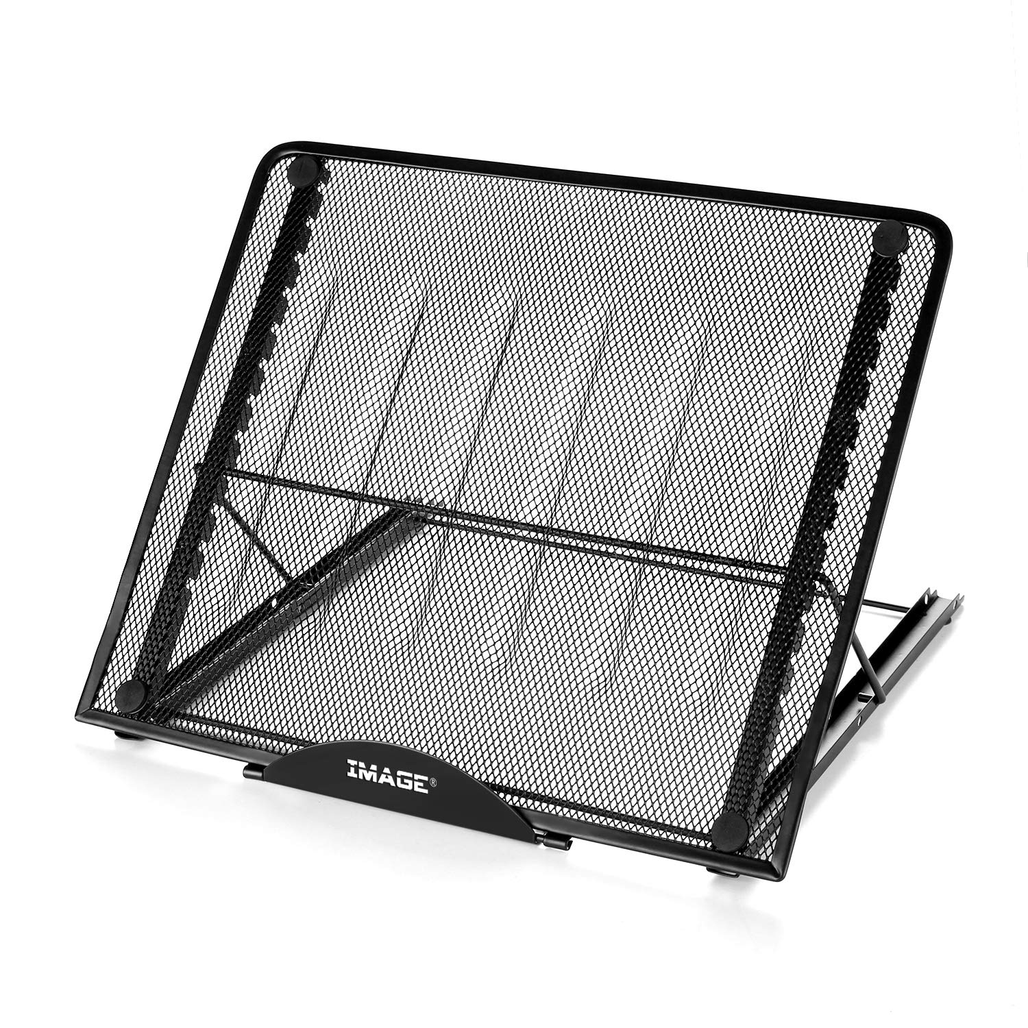 Large Version Stand Ventilated Adjustable Light Box Laptop Pad Stand,IMAGE Multifunction(12 Angles) Skidding Prevented Tracing Holder for AGPtek/Huion A3 A4 LED Tracing Light Pad & Diamond Painting by IMAGE