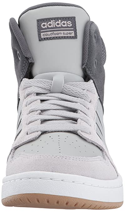 cheap for discount 83eff d9285 Amazon.com  adidas NEO Womens CF Superhoops Mid W Basketball-Shoes,  WhiteWhiteMatte Silver, 6.5 M US  Basketball