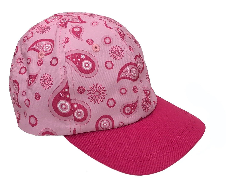 NIce Caps Girls Vibrant Paisley Design Summer Adjustable Ball Cap
