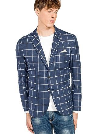 design senza tempo 284a4 7b7e7 Clayton Giacca a quadri: Amazon.it: Abbigliamento