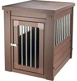 new age pet ecoflex pet crateend table - Wooden Dog Crate End Tables