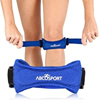 Abco Tech Patella Knee Strap - Knee Pain Relief - Tendon and Knee Support for Running, Hiking, Soccer, Basketball…