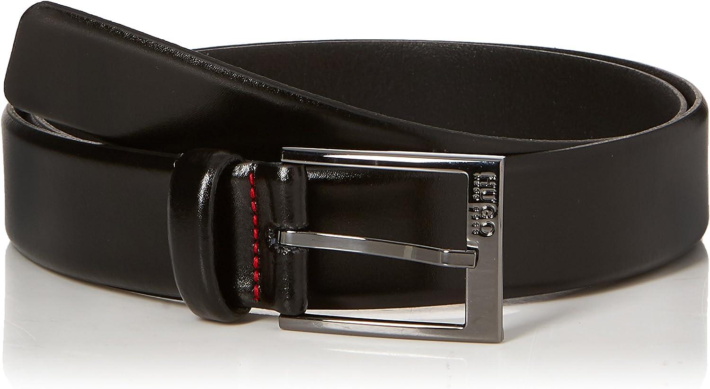 Hugo Boss Garney Leather Black Belt