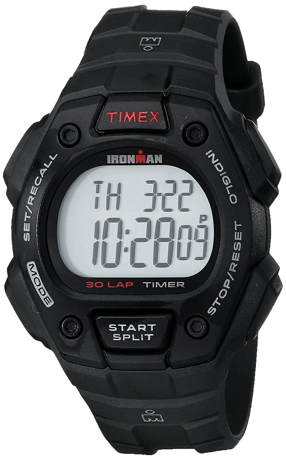 8caee06ab6f6 Amazon.com  Timex Men s T5K822 Ironman Classic 30 Black Resin Strap Watch   Timex  Watches