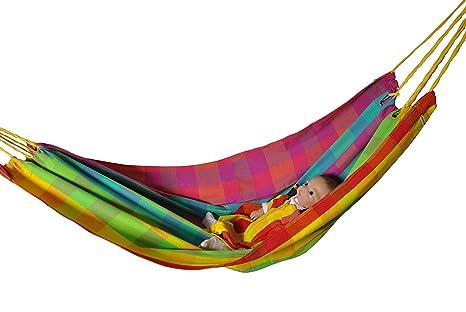 Hängematte für Baby und Kind von HOBEA-Germany, Modell Regenbogen