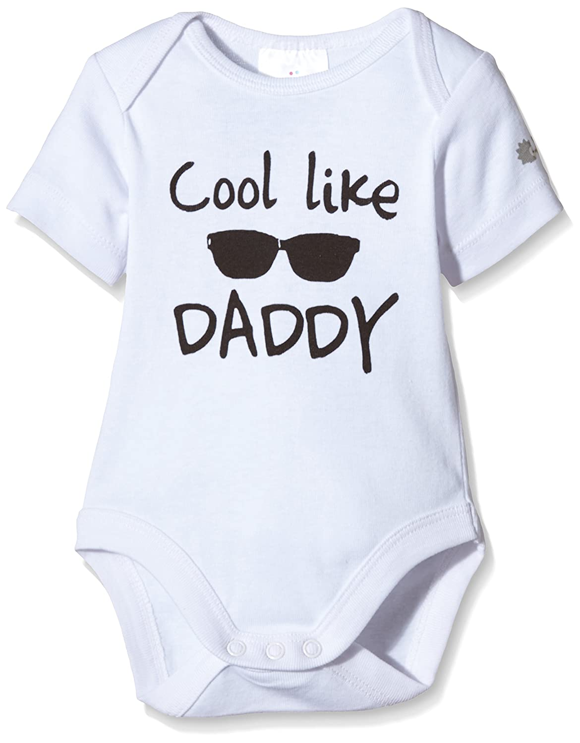 Druck Cool Like Daddy Twins Kurzarm Body Beb/é unisex