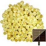 LightsEtc 100 LED Solar String Lights, 39-Feet, Warm White