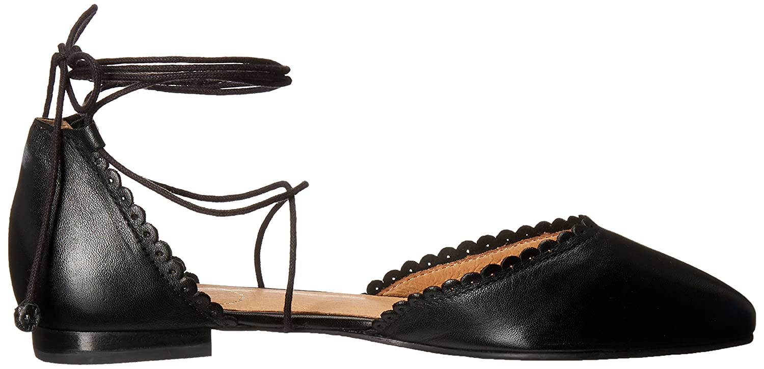 Jack Rogers Women's 8.5 Camille Pointed Toe Flat B01I6M7OOI 8.5 Women's B(M) US|Black 50871e