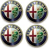 Sticker Autocollant Planche 4 Logo Alfa Romeo 5x5cm de diamétre