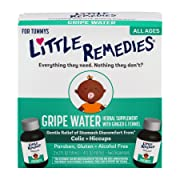 Little Remedies Gripe Water | Herbal Supplement | 4 oz. | Pack of 1 | Gently Relieves Stomach Discomfort from Gas, Colic, and Hiccups | Safe for Newborns