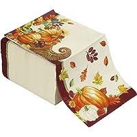 Artstyle Servilletas desechables de papel para cena, cornucopia otoñal, 120 unidades