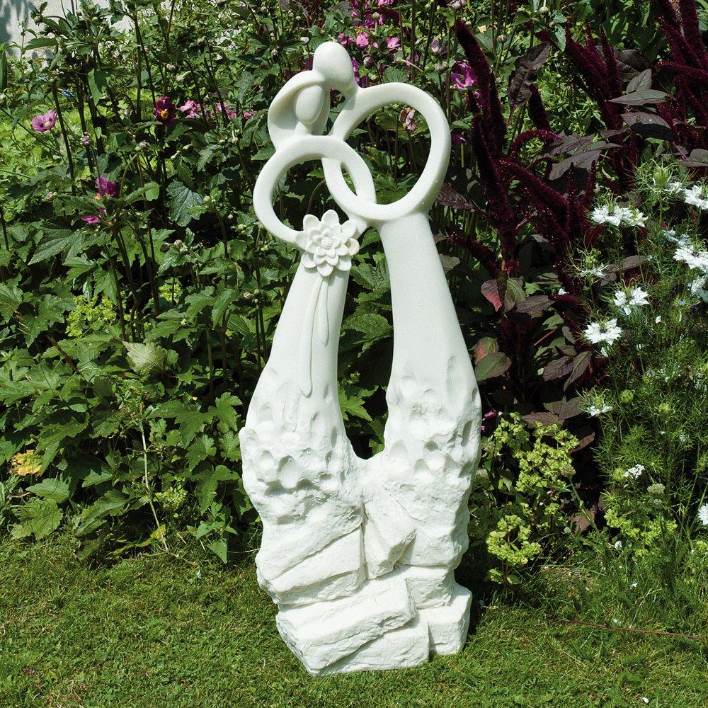 Large contemporary art sculptures the wedding modern garden statue amazon co uk garden outdoors