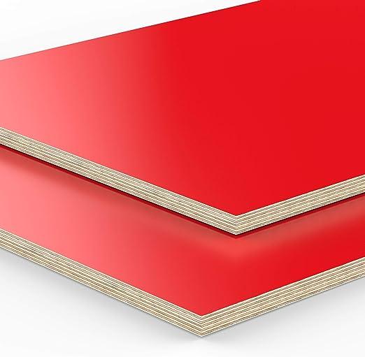 120x50 cm AUPROTEC Tischplatte 18mm wei/ß 1200 mm x 500 mm rechteckige Multiplexplatte melaminbeschichtet von 40cm-200cm ausw/ählbar Ecken Radius 100mm Birken-Sperrholzplatten Auswahl