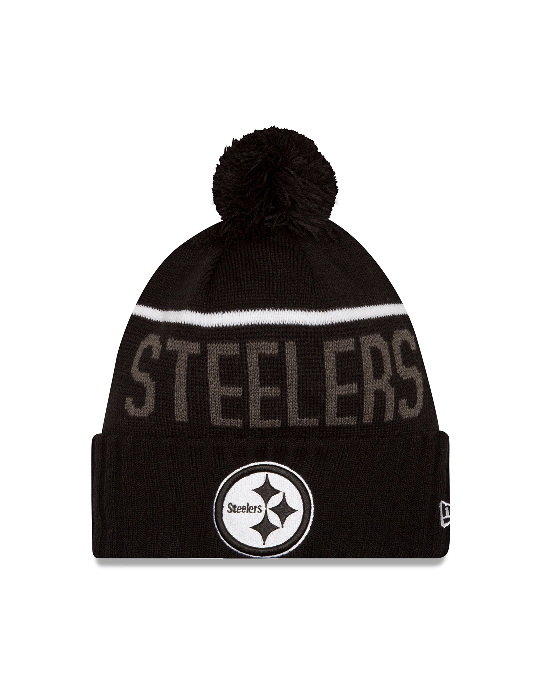NFL Pittsburgh Steelers 2015 Sport Knit, Black, One Size by New Era